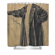 The Waterproof Coat Of General Moltke Shower Curtain