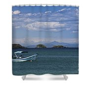 The Waters Of Coiba Shower Curtain