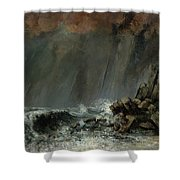 The Waterspout Shower Curtain