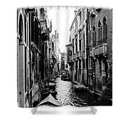 The Waterways Of Venice Shower Curtain