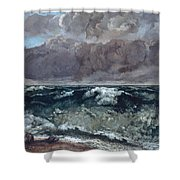 The Wave 1867  Shower Curtain