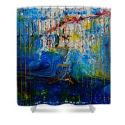 The Sound Wave Shower Curtain