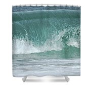 The Wave De Shower Curtain