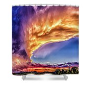 The Wave Shower Curtain