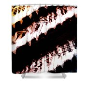 The Wave Station Shower Curtain