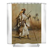 The Way From Sinai To Cairo Shower Curtain