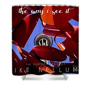 The Way I See It Coffee Table Book Cover Shower Curtain
