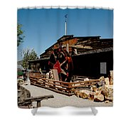 The Way It Was Virginia City Nv Shower Curtain