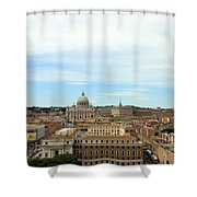 The Way To St. Peter's Basilica Shower Curtain