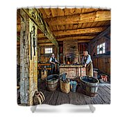 The Way We Were - The Blacksmith 2 Shower Curtain