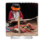 The Weaver Shower Curtain