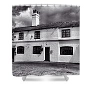 The Weavers Arms, Fillongley Shower Curtain by John Edwards