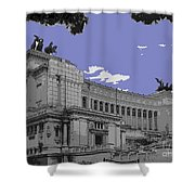 The Wedding Cake In Rome Shower Curtain