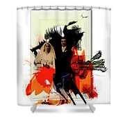 The Wedding Picture Shower Curtain