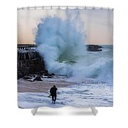 The Wedge Shower Curtain