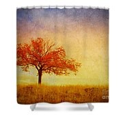 The Wednesday Tree Shower Curtain