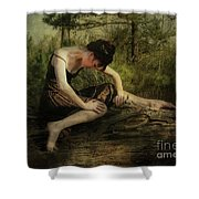 The Weight Of Nature Shower Curtain