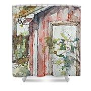 The Pump House  Shower Curtain