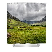 The Welsh Valley Shower Curtain