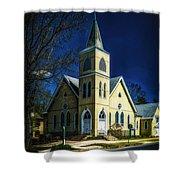 The Wenonah United Methodist Church Shower Curtain