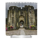 The West Gatehouse 1 Shower Curtain