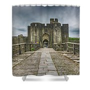 The West Gatehouse 2 Shower Curtain