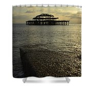 The West Pier Shower Curtain