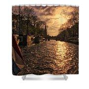 The Westerkerk Amsterdam Shower Curtain