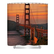 The Western Front Shower Curtain