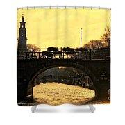 The Westertoren Amsterdam Shower Curtain