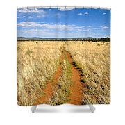 The Westward Trail Shower Curtain