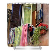 The Wet Clothes Shower Curtain