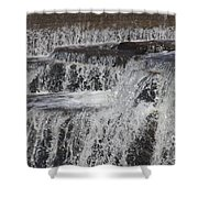 The Wet Sound Of Gravity Shower Curtain