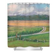 The Wheat Field Shower Curtain