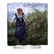 The Wheatfield Shower Curtain