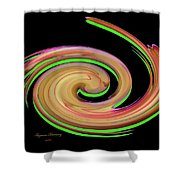 The Whirl Of Life, W13.1b Shower Curtain
