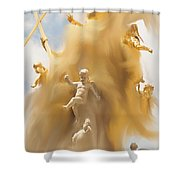 The Whirlwind Shower Curtain