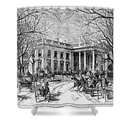 The White House, 1877 Shower Curtain