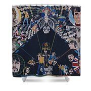 The Who - Quadrophenia Shower Curtain