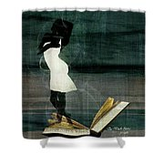 The Whole Story  Shower Curtain