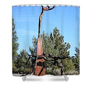 The Why Group Shower Curtain