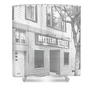 Mystery Daze Mystery Street Shower Curtain