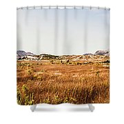The Wide West Shower Curtain