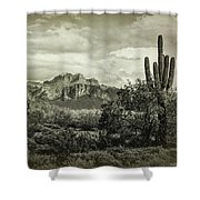 The Wild West Of The Superstitions  Shower Curtain