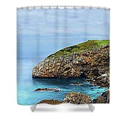 The Winding Staircase Medium Version Shower Curtain