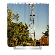 The Windmill Shower Curtain