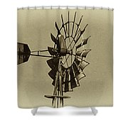The Windmills Of My Mind Shower Curtain