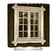 The Window 2 Shower Curtain