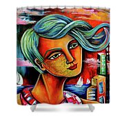The Winds Of Change Shower Curtain