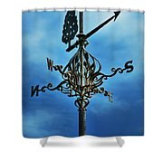 The Winds Of Time Shower Curtain